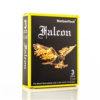Horizontech Falcon Replacement Coils (3 Pack) - Replacement Vape Coils