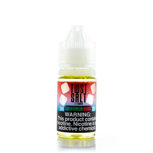 Iced Watermelon Madness by Twist Salt E-Liquids 30mL - Vapor Lounge