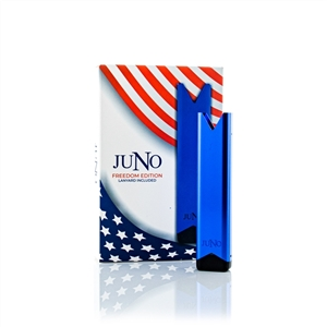 Juno - Blue - Freedom Edition - Salt Nic Pod Device Battery - Vapor Lounge
