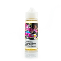 Pink Starburst E-Liquid by Mad Rabbit - 120mL Vape Juice Bottle | Vapor Lounge