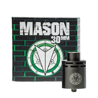 Mason 30mm Rebuildable Dripping Atomizer (RDA) by Vapergate
