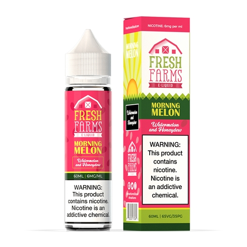Morning Melon by Fresh Farms E-Liquids - High VG Premium Vape Juice  | Vapor Lounge®