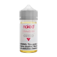 Strawberry Flavor High VG Juice by Naked 100 Fusion e-Liquid (60mL) | Vapor Lounge®