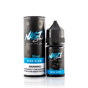 Slow Blow Salt Nic by Nasty Juice - Salt Nic Vape Liquid