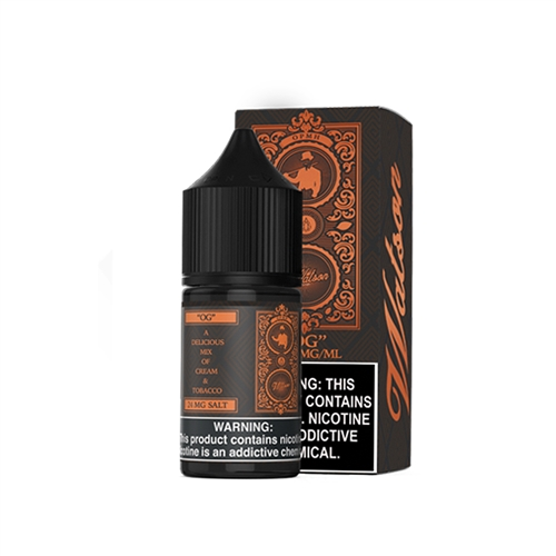 O G Tobacco Salt Nic by Watson E-Liquid  - Vapor Lounge