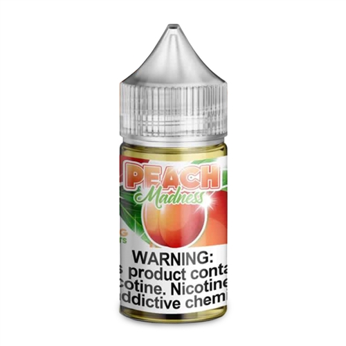 Peach Madness Salt Nic by Mad Rabbit - 30mL - Vapor Lounge