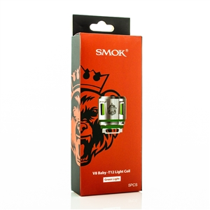 SMOK TFV12 Baby Prince V8-T12 Green Light Replacement Coil Head | Vapor Lounge®