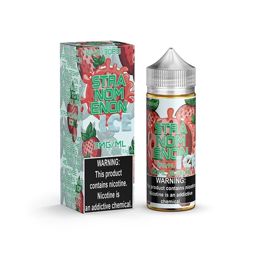 STRANOMENON ICE BY NOMS 120mL - Flavored High VG Nicotine Vape Juice  | Vapor Lounge®