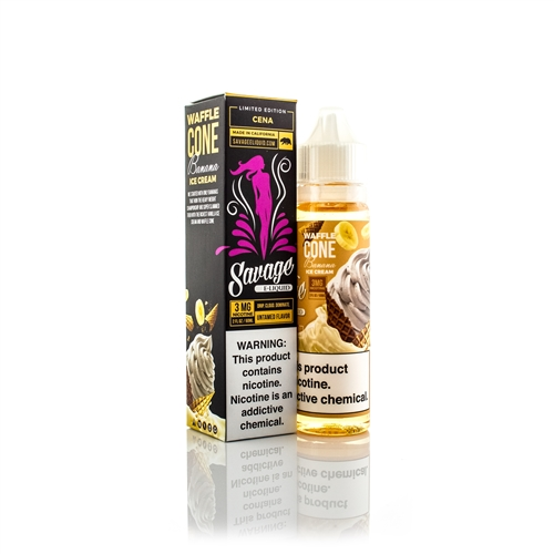 Cena Vape Juice by Savage E-Liquid Limited Edition | Vapor Lounge
