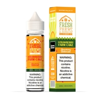 Strawberry Farm Cake by Fresh Farms e-Liquid - High VG e-Liquid | Vapor Lounge®