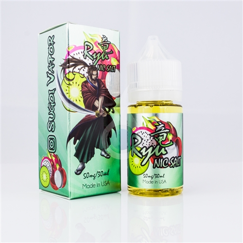 Ryu Nic Salt by Sugoi Vapor - 30mL e-Liquid Bottle | Vapor Lounge
