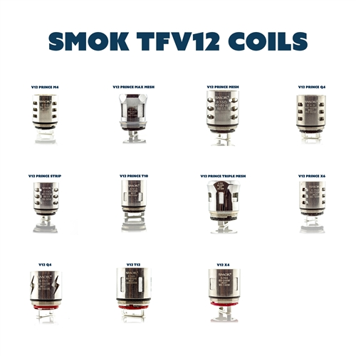 SMOK TFV12 Prince Replacement Sub-Ohm Vape Coils (3 Pack) | Vapor Lounge®
