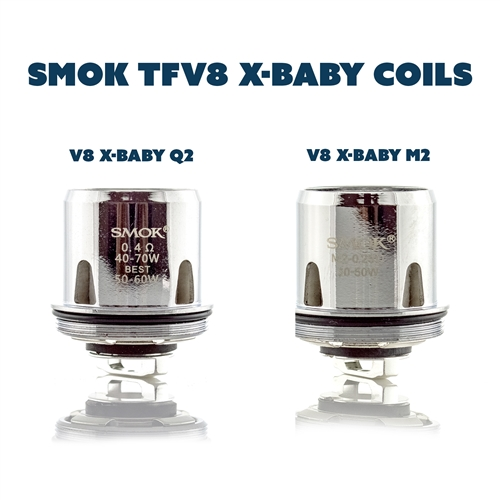 SMOK TFV8 X Baby Replacement Sub-Ohm Coils
