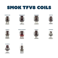 SMOK TFV8 Baby Replacement Coils - Sub-Ohm Replacement Coils - Vapor Lounge