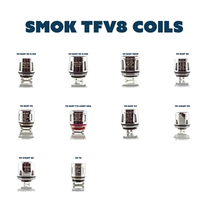 SMOK TFV8 Turbo Engines Replacement Sub-Ohm Coils | Vapor Lounge