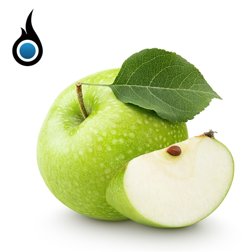 Apple Flavored Premium E-Cig eLiquid - 10mL Vape Juice Bottle