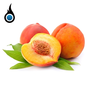 Juicy Peach Flavored High PG Vape Juice - 10mL Bottle of eLiquid | Vapor Lounge®