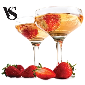 Strawberry Champagne Flavored High VG Vape Juice (60mL) E-Cig Liquid | Vapor Lounge®