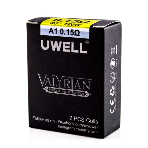 Uwell Valyrian Replacement Coils  - Vapor Lounge