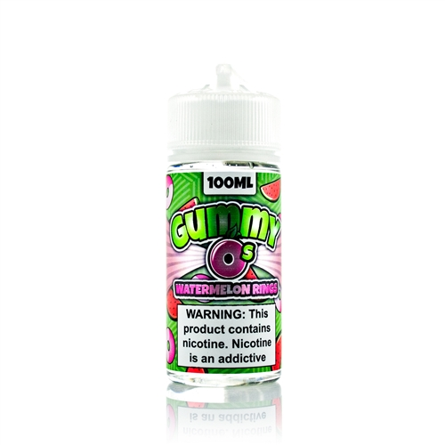 Watermelon Rings by Gummy O's 100mL - Vapor Lounge