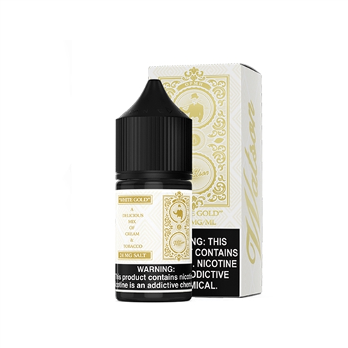 White Gold Tobacco Flavored Salt Nic by Watson E-Liquid | Vapor Lounge®