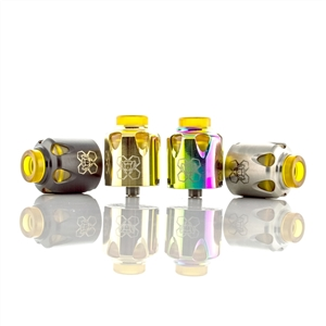 Yellow Jacket 24mm Bottom Fed RDA by Bruce Pro Innovations