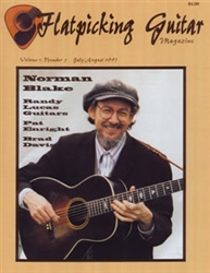 Flatpicking Guitar Magazine, Volume 1, Number 5, July / August 1997 - Norman Blake: SOLD OUT OF HARDCOPY