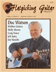 Flatpicking Guitar Magazine, Volume 2, Number 6, September / October 1998 - Doc Watson: SOLD OUT OF HARD COPY