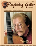 Flatpicking Guitar Magazine, Volume 3, Number 1, November / December 1998 - Tony Rice: SOLD OUT OF HARD COPY