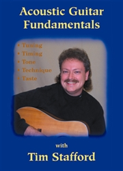 Acoustic Guitar Fundamentals DVD - Tim Stafford