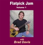 Flatpick Jam CD - Volume 1 - Brad Davis