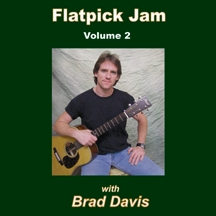 Flatpick Jam CD - Volume 2 - Brad Davis
