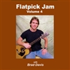 Flatpick Jam CD - Volume 4 - Brad Davis