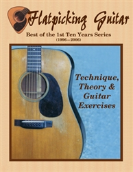 Flatpicking Guitar Magazine Best of the 1st 10 Years CD-ROM - Theory & technique