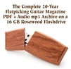 Flatpicking Guitar Magazine Complete 20-Year PDF Archive & mp3 Audio Archive