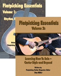 Flatpicking Essentials Starter Pack - Volume 1 & 2 by Dan Miller