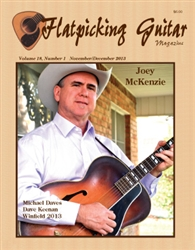 Flatpicking Guitar Magazine, Volume 18, Number 1