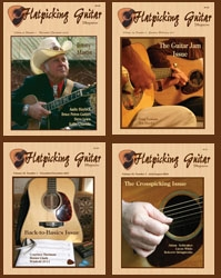 Flatpicking Guitar Magazine Back Issue Guitar Technique Package