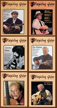 Flatpicking Guitar Magazine Back Issue