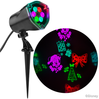 "Minnie's Bow-tique Fantastic Flurryâ""¢ LED Projectionâ""¢ Spotlight"