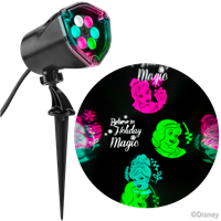 "Disney Princess Fantastic Flurryâ""¢ LED Projection Spotlight"