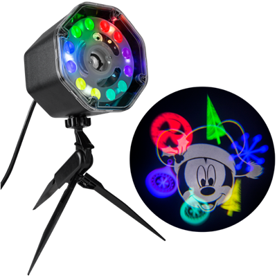 "Mickey Mouse JingleMingleâ""¢ LED Projectionâ""¢ Spotlight"