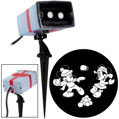 LIGHTSHOW PROJECTION Mickey Mouse and Minnie Mouse Animated Scene