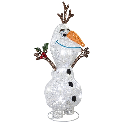 SHIMMERING MAGIC Olaf Tinsel