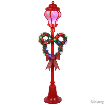 "Mickey Mouse Light Ribbonsâ""¢ LED Projectionâ""¢ Lamp Post"