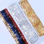 Costume Sequin Belt - 2XL & 3XL