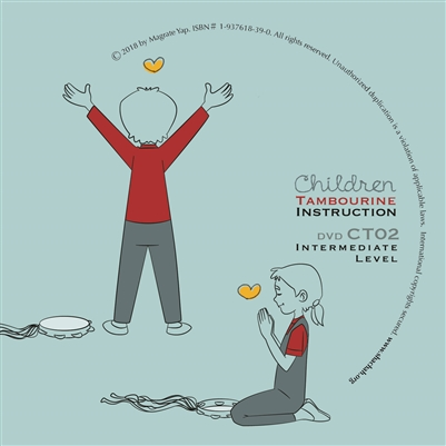 Children Tambourine DVD - Level 2