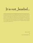 It is not Jezebel