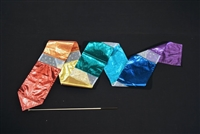 7 x 7 Twirl Streamer CLOTH ONLY. (Designer Colors)