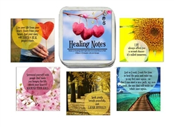 Healing Notes Affirmation Card Deck